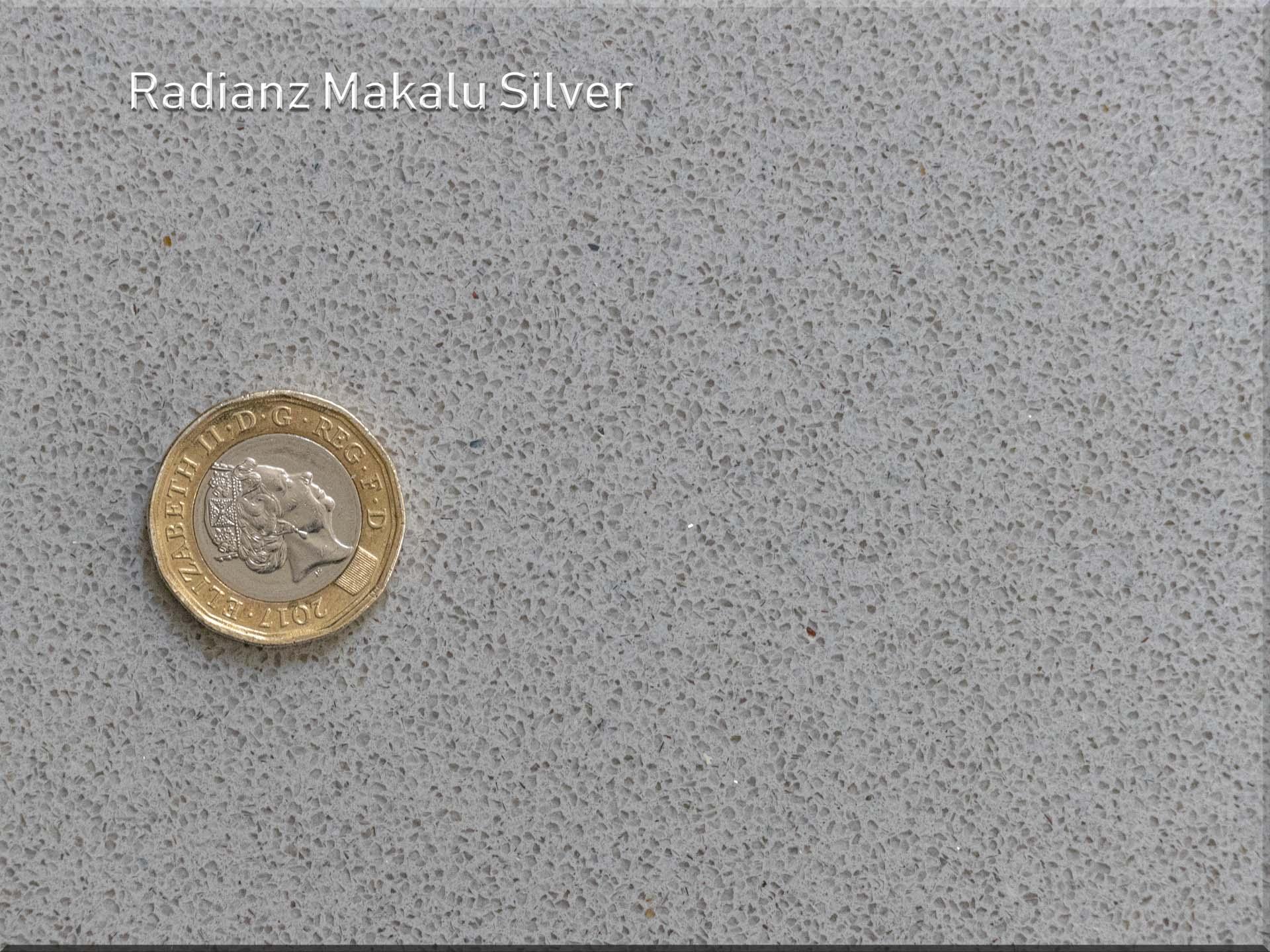 radianz makalu silver small sparkly quartz worktops subtle special offer july 2019 164026