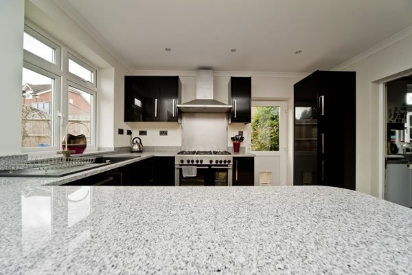 Salt and Pepper Granite Worktops