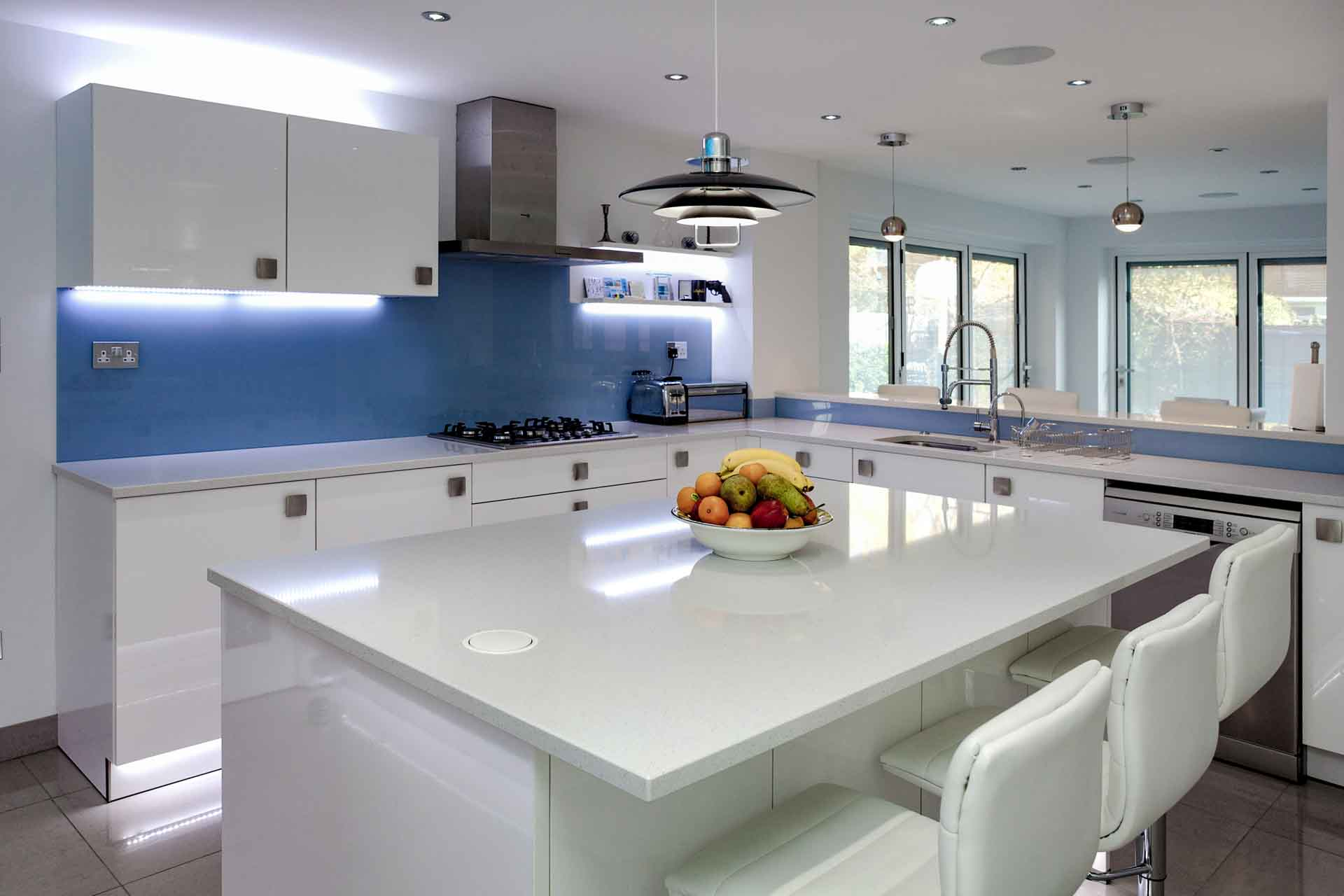 Sharknose Edge On Quartz Worktops The Ultra Contemporary