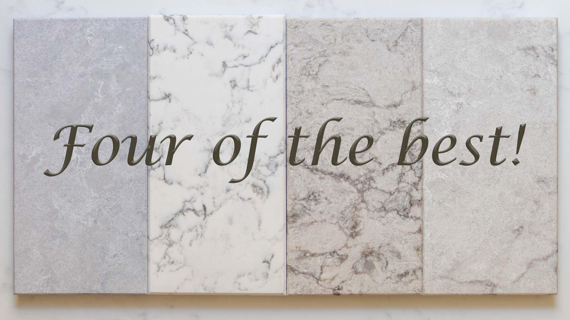 Four of the Best: Caesarstone Quartz Worktops on Special