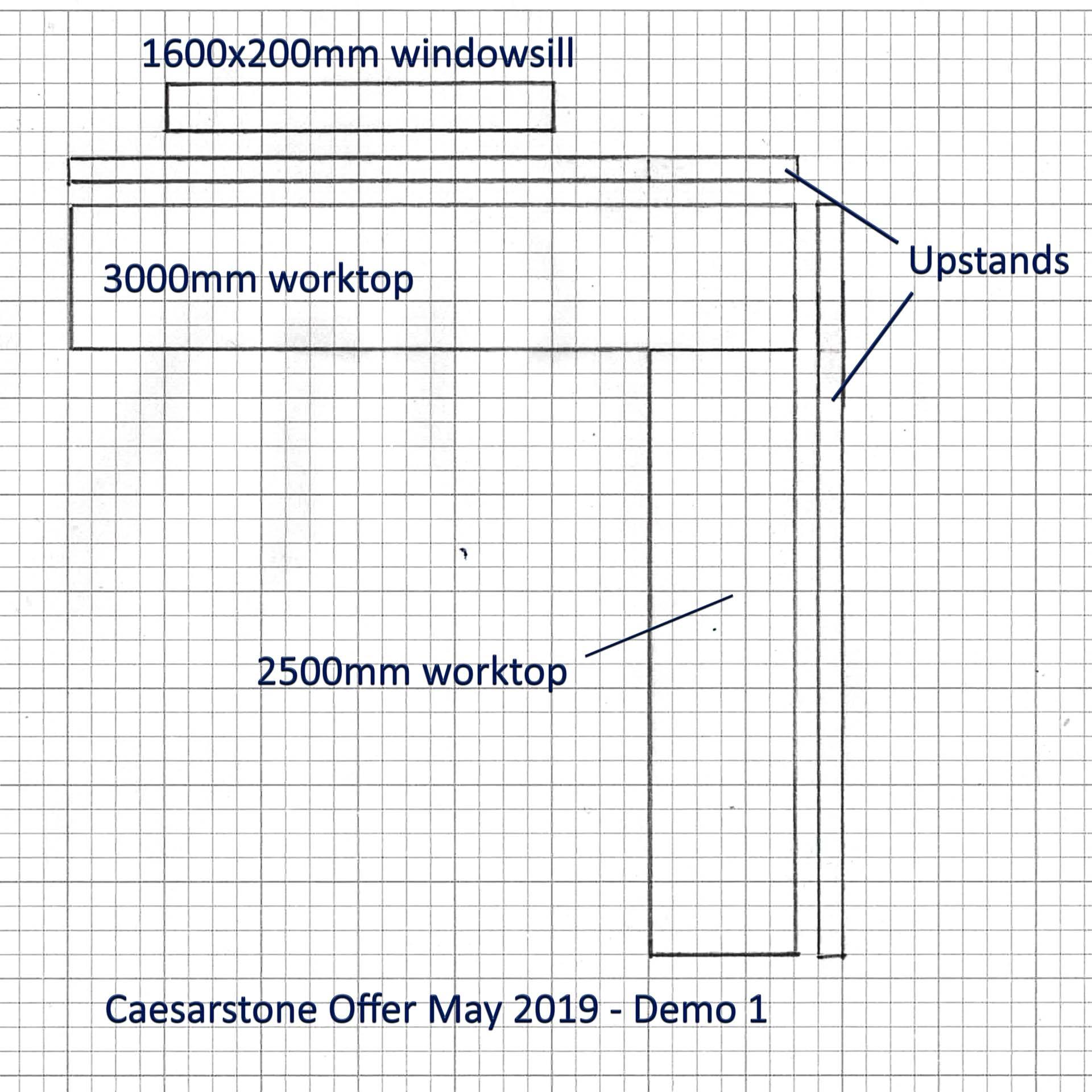 special offer caesarstone quartz worktops kitchen plans discount 001a