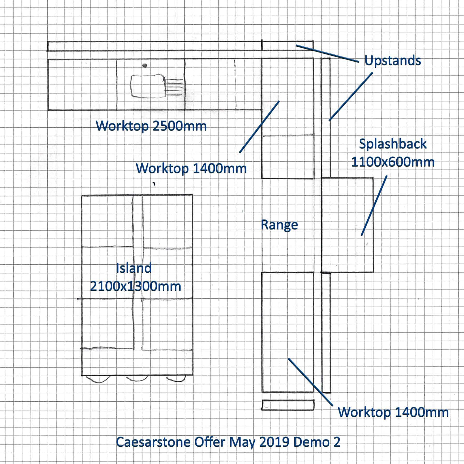 special offer caesarstone quartz worktops kitchen plans discount 002a