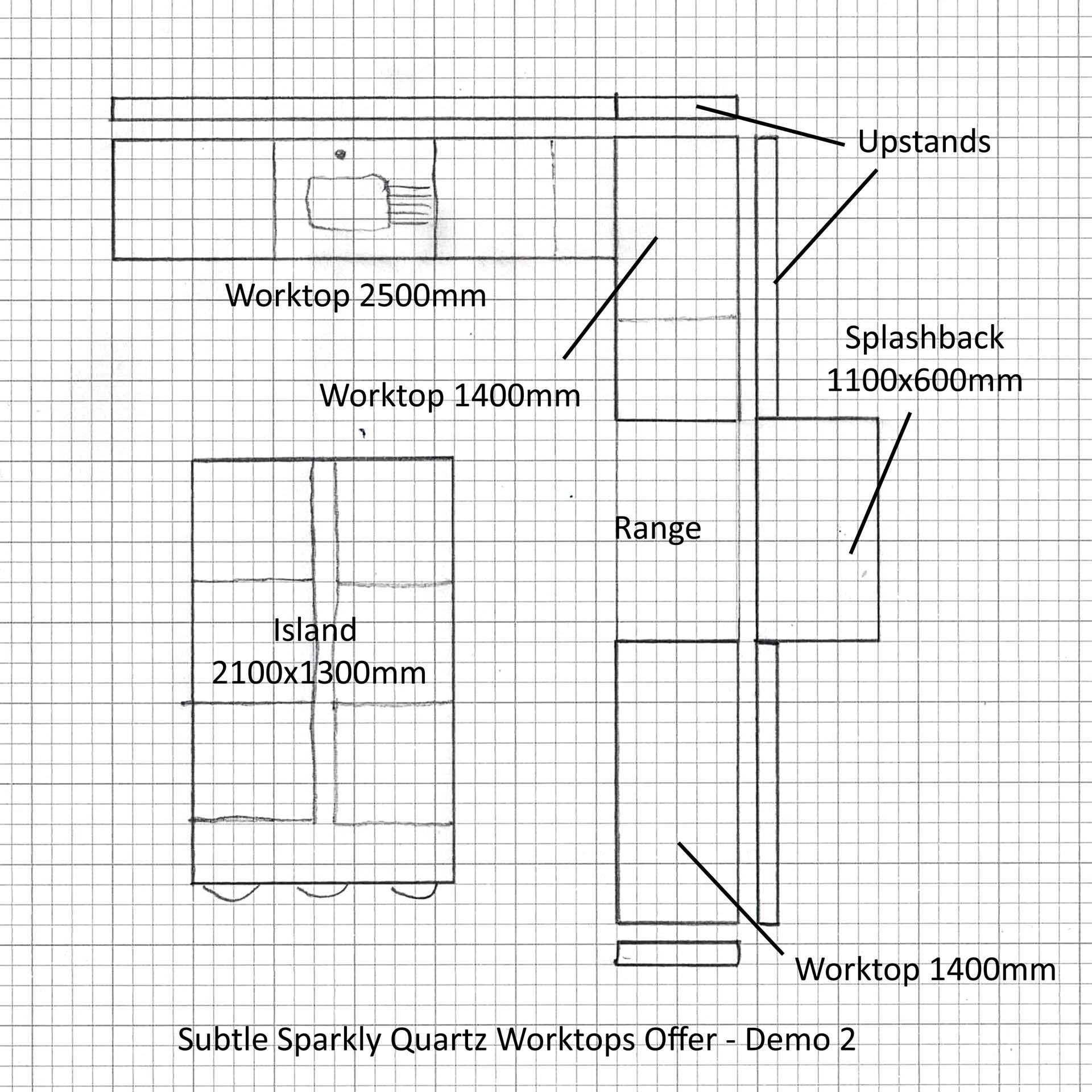 special offer quartz worktops kitchen plans discount 002