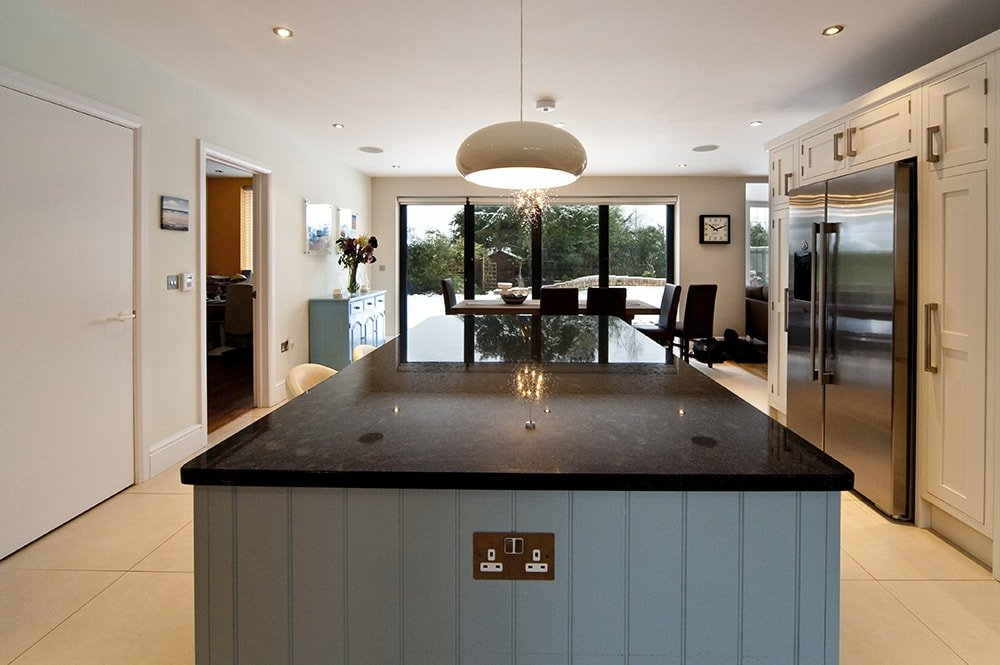 Steel Grey Granite Kitchen Worktops, Cuckfield, West Sussex