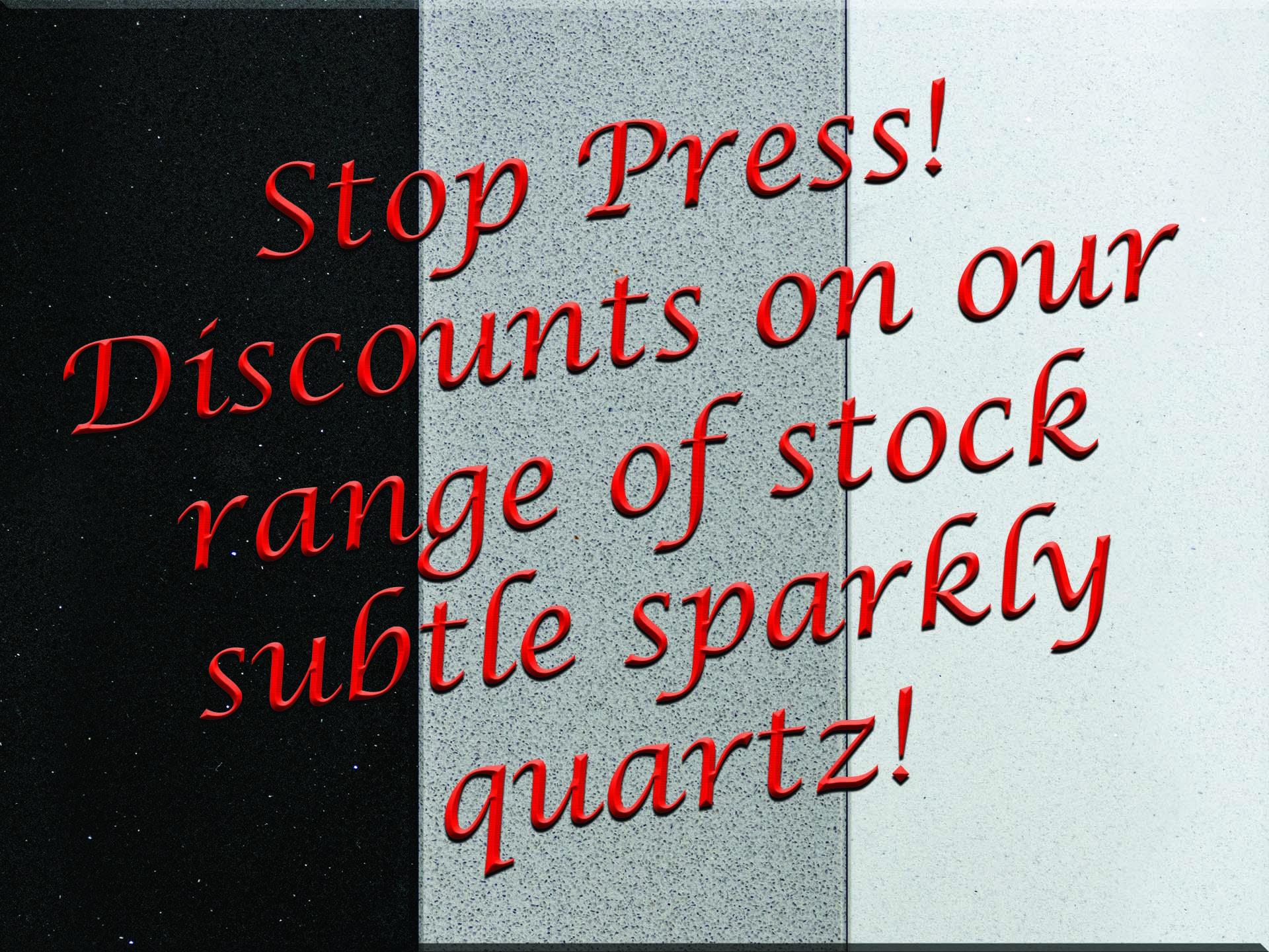 small sparkle quartz special offer