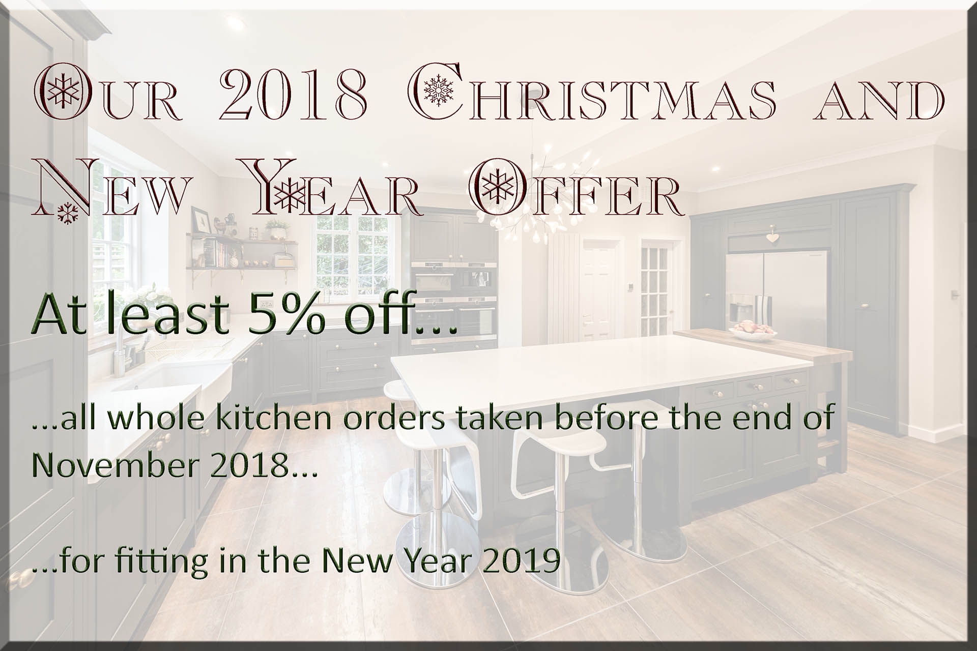 christmas new year special offer surrey granite worktops