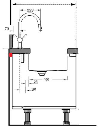 tap behind sink 3